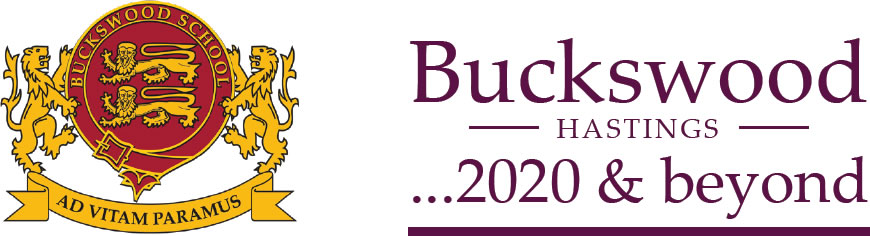 Buckswood 2020 and beyond logo