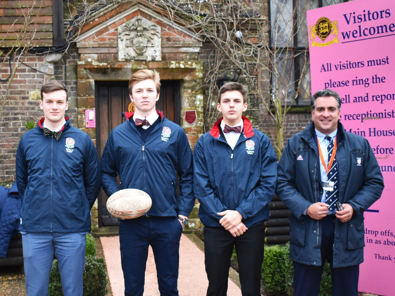 Buckswood Rugby Academy boys selected for the Sussex U17 squad