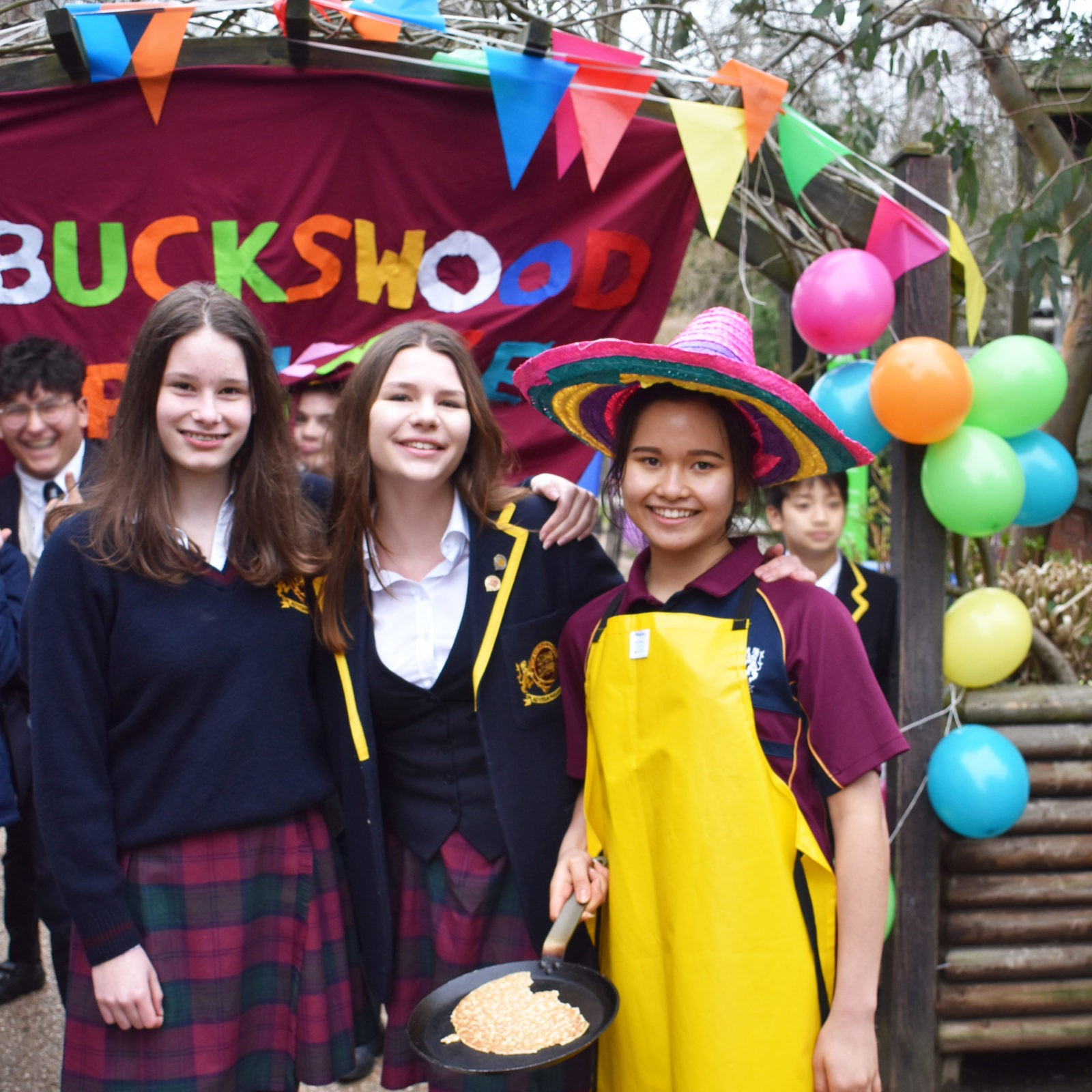 Flipping for success at Buckswood for Shrove Tuesday
