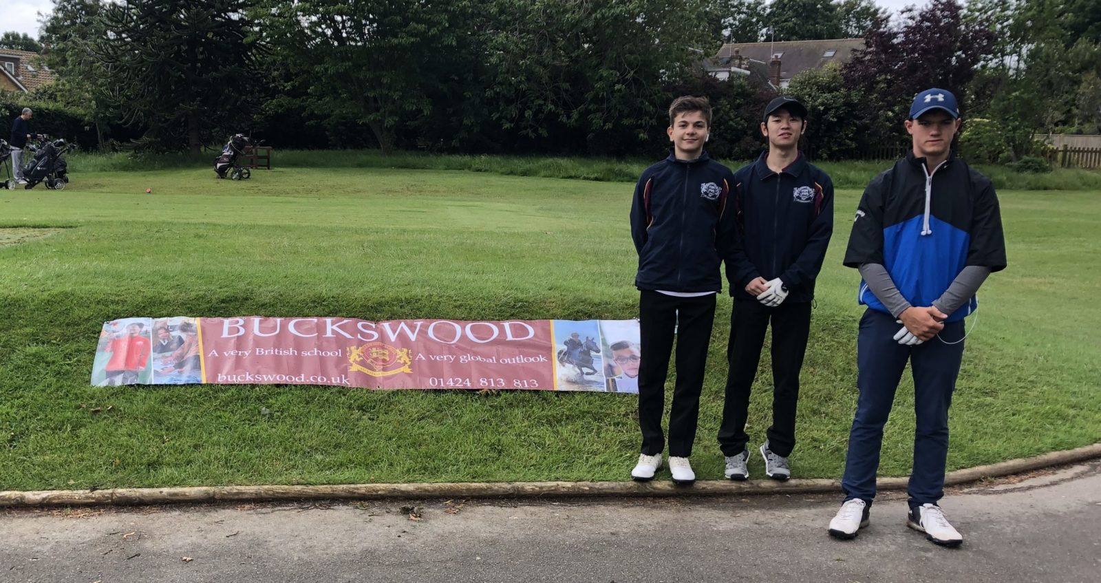 Buckswood participates in Golf Charity Day